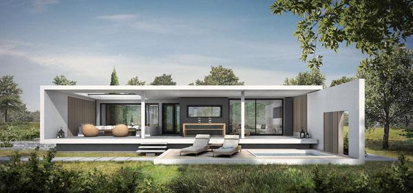 Ultra moderna kuća u Solunu