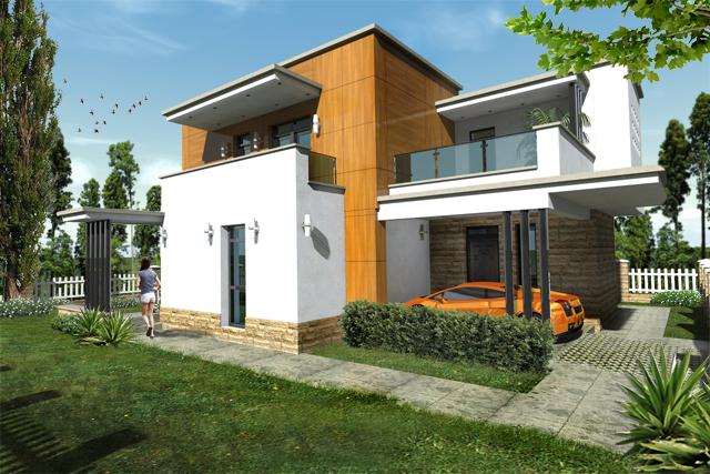 moderna kuća moderna kuća Jednostavna moderna kuća za odmor i beg iz gradskog sivila 33