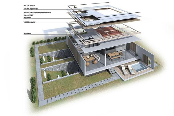 6 moderna kuća Ultra moderna kuća u Solunu 62