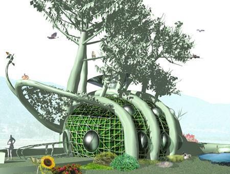 arhitekture i prirode arhitekture SIMBIOZA ARHITEKTURE I PRIRODE Page 1 Image 1