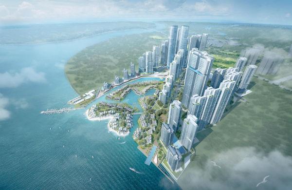 na vodi na vodi Iskandar na vodi (VIDEO) Tebrau Waterfront Residences Johor Bahru Malays 0