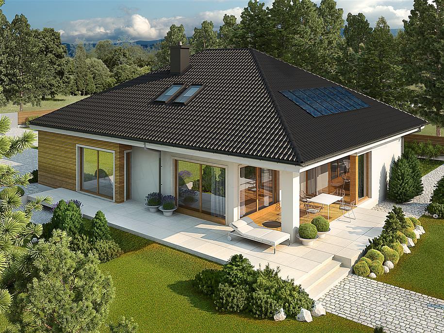 Prizemna kuća sa prostranom terasom i garažom (2)