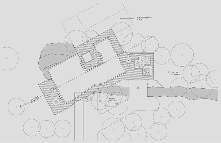 kuća na planinskom spustu 8