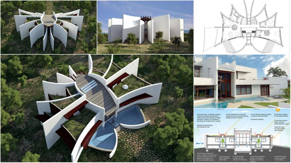 Eko kuća neobičnog oblika