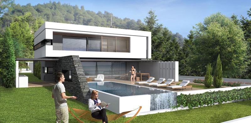 Moderna kuća na Halkidikiju