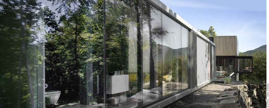 Privatna rezidencija i gostinska kuća u Lorentinskim planinama