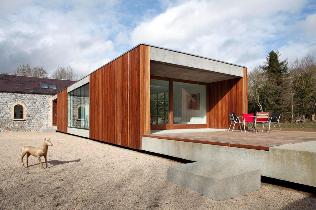 Moderno prizemno krilo seoske kuće