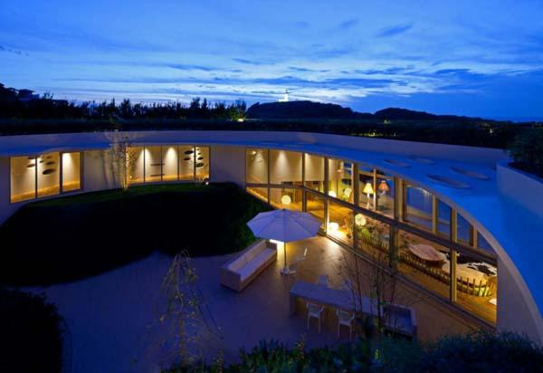 Villa Ronde - Kružna ekološka kuća
