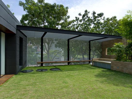 Moderna kuća sa dvoristem 9
