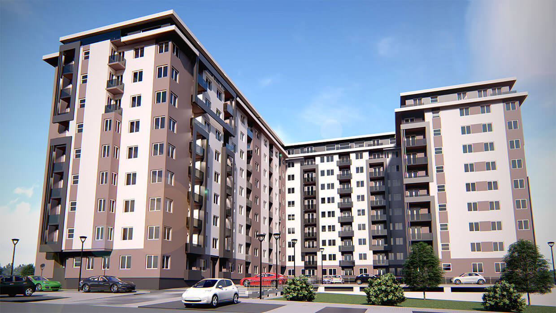 Projekti stambeno poslovnih zgrada Erdoglija Kragujevac 1
